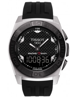 T-Touch Tony Parker Chrono Silicone Noir Homme