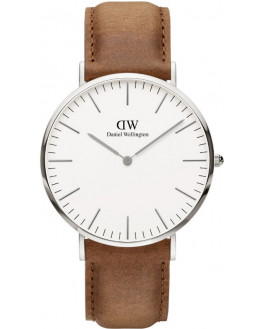 Classic Durham Silver 40mm Homme