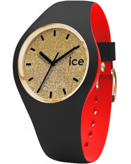 Ice Loulou Gold Glitter Small Femme