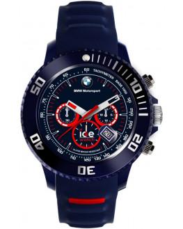 Ice-BMW Chrono Dark Blue & Red Big Homme