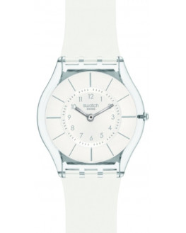 White Classiness Silicone Blanc Femme