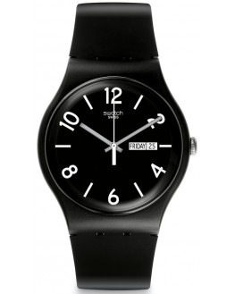Backup Black Silicone Noir Homme