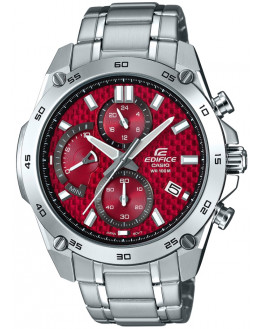Edifice Sport Chrono Rouge Homme