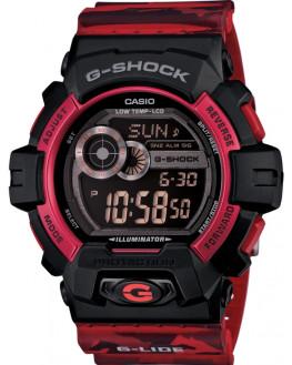 G-Shock G-Lide Rouge Homme
