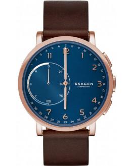 Hagen Connected Cuir Marron Homme