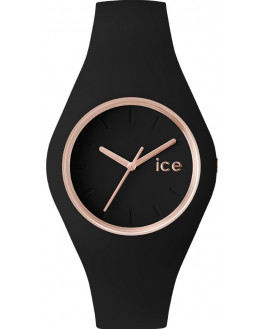 Ice Glam Black Rose Gold Small Femme