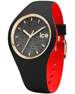 Ice-Loulou Black Glitter Small Femme