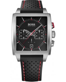 Sport Silicone Noir& Rouge Chrono Homme