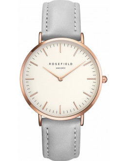 The Bowery White Grey Rose Gold